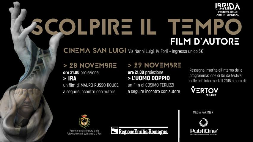 Proiezioni speciali - RASSEGNA CINEMATOGRAFICA: SCOLPIRE IL TEMPO - mercoledì 28 e giovedì 29 novembre ore 21.00
