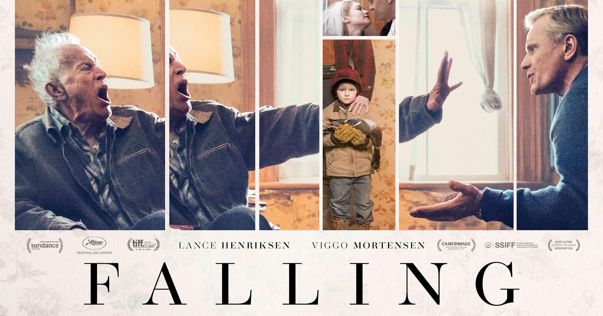 Cinema weekend: FALLING - Venerdì 1 Ottobre alle 21, Sabato 2 Ottobre alle 21, Domenica 3 Ottobre alle 18:15 e alle 21