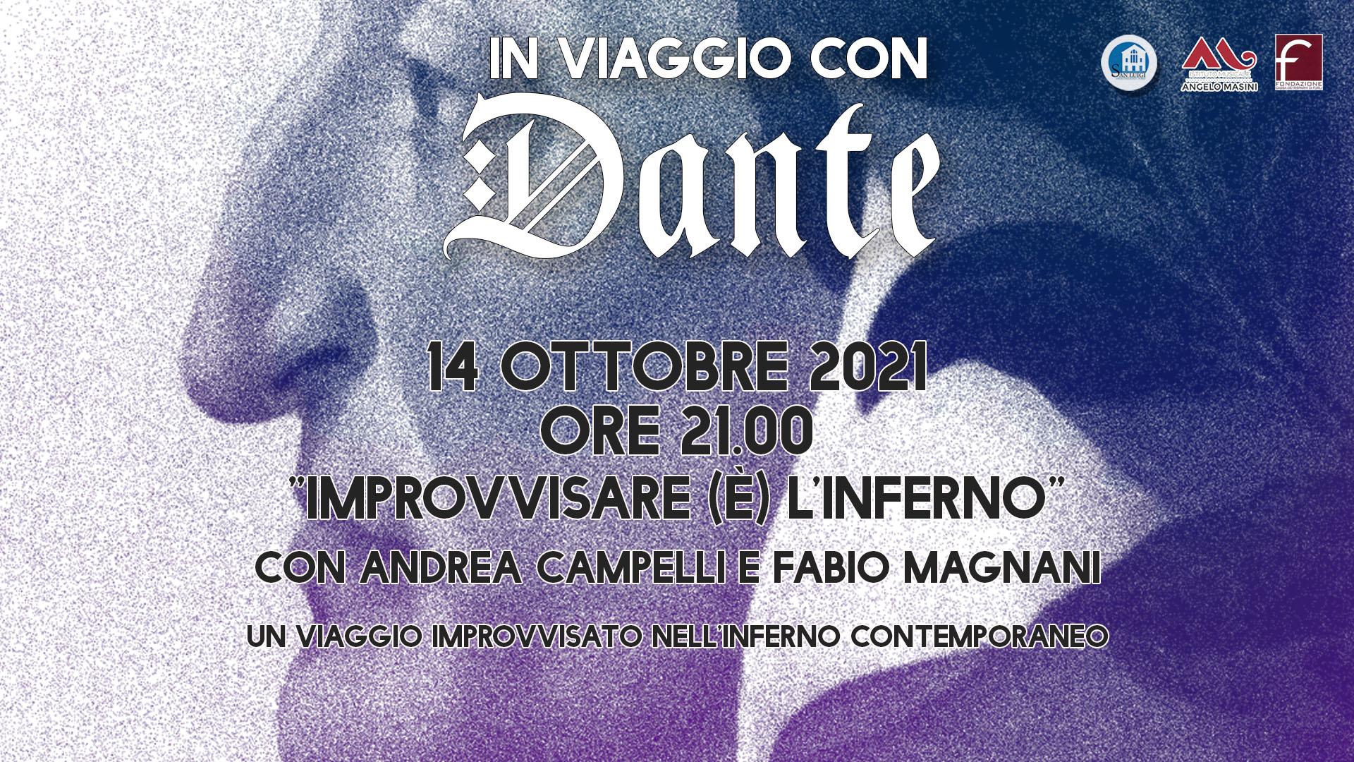 Evento speciale: IMPROVVISARE  (È) L'INFERNO - Dante Alighieri nell'improvvisazione teatrale - Giovedì 14 Ottobre alle 21