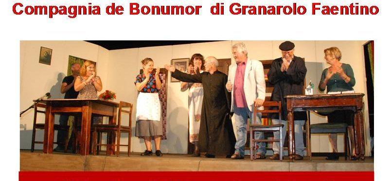 Teatro dialettale - Compagnia de' Bonumor di Granarolo Faentino (RA) - FER L'AMOR A CA' DE PRIT
