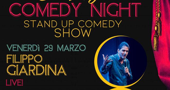 TEATRO COMICO: FILIPPO GIARDINA LIVE!